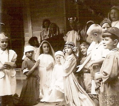 A full cast of children perform in the parish Christmas pageant Our Lady of the Valley continues to have an annual pageant date unknown
